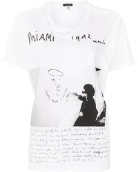 R13 U2 Miami Photograph-print T-shirt - White