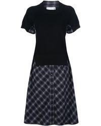 Sacai - フレア シャツドレス - Lyst