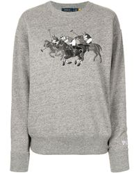Polo Ralph Lauren ロゴ セーター - グレー