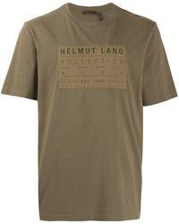 Helmut Lang ロゴ Tシャツ - マルチカラー
