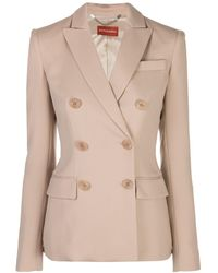 Altuzarra Double-breasted Blazer - Natural