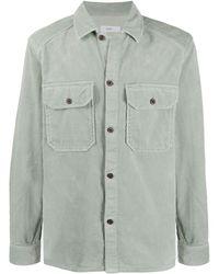 Closed Вельветовая Рубашка - Зеленый