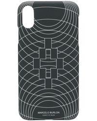 Marcelo Burlon - ロゴ Iphone Xr ケース - Lyst