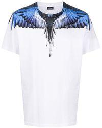 Marcelo Burlon プリント Tシャツ - ホワイト