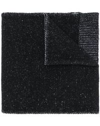 Stone Island - Classic Knitted Scarf - Lyst