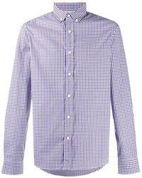 Brunello Cucinelli - Рубашка В Клетку Гингем - Lyst