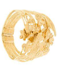 Aurelie Bidermann Aurelie Cuff Bracelet - Metallic
