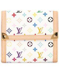 Louis Vuitton Cartera con monograma - Blanco