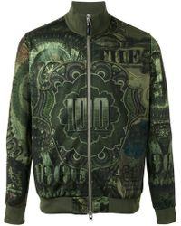 Givenchy - Dollar Print Bomber Jacket - Lyst