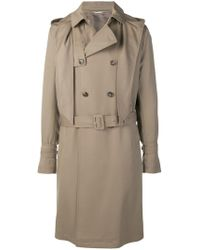 Valentino - Hooded Trench Coat - Lyst