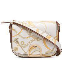 Emilio Pucci Jewel-print Saddle Bag - Multicolor
