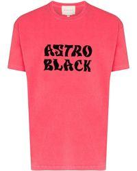Nicholas Daley Astro Black Tシャツ - ピンク