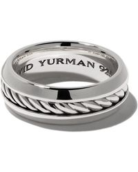 David Yurman Cable Classic リング - メタリック