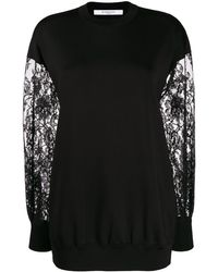 Givenchy - レーススリーブ セーター - Lyst