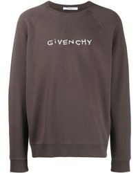 Givenchy - Sweater Met Geborduurd Logo - Lyst