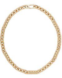 Prada Chain Necklace - Metallic