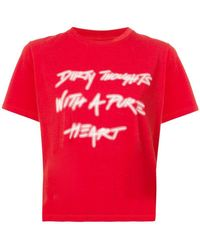 Amiri - Dirty Thoughts T-shirt - Lyst