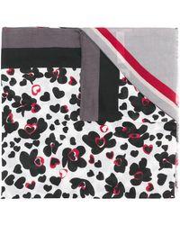 Liu Jo ハート スカーフ - マルチカラー