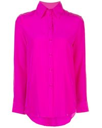 Adam Lippes Button-front Blouse - Pink