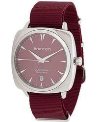 Briston Clubmaster Iconic Horloge - Rood