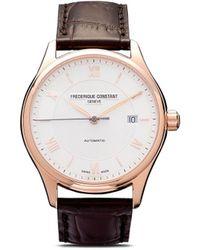 Frederique Constant Наручные Часы Classics Index Automatic 40 Мм - Белый