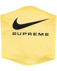 Supreme X Nike ネックウォーマー - イエロー