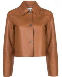 Loewe Куртка-рубашка - Коричневый