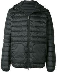 Pyrenex Quilted Hooded Coat - Zwart