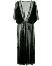 Tu Es Mon Tresor - Mesh Midi Dress - Lyst