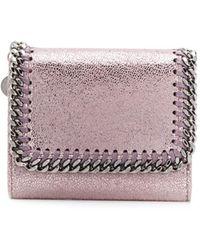 Stella McCartney - ファラベラ 三つ折り財布 - Lyst