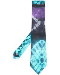 Paura Tie-dye Tie - Blue