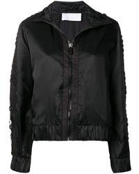NO KA 'OI Sequin Embroidered Track Jacket - Black