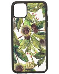 Dolce & Gabbana Chestnut Print Iphone 11 Pro Case - Green