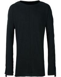 Cedric Jacquemyn - Long Sleeved Long T-shirt - Lyst