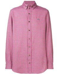 Vivienne Westwood チェックシャツ - ピンク