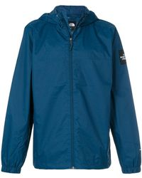 The North Face - Hooded Windbreaker Jacket - Lyst