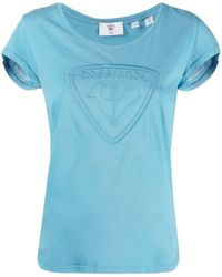 Rossignol T-shirt con ricamo - Blu