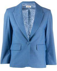 Zadig & Voltaire シングルジャケット - ブルー