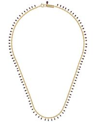 Isabel Marant 'Collier' Halskette - Mettallic