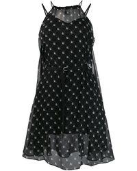 DIESEL ベルテッド ドレス - ブラック