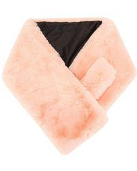 Apparis Luna エコファー スカーフ - ピンク