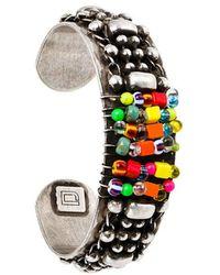 DANNIJO - Beaded Cuff Bracelet - Lyst