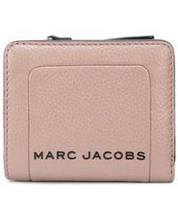 Marc Jacobs Compacte Portemonnee - Bruin