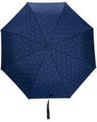 Moschino Зонт С Цветочным Принтом - Синий