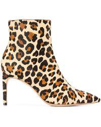 Sophia Webster Ses19096 Leopard Furs & Skins->calf Leather - ブラウン