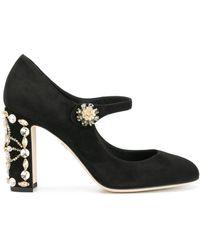 Dolce & Gabbana Декорированные Туфли 'vally' - Черный