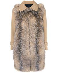 Blancha - Mid-length Fur Coat - Lyst