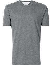 Brunello Cucinelli - ラウンドネック Tシャツ - Lyst