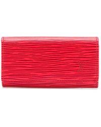Louis Vuitton Футляр Для Ключей Épi 1990-х Годов Pre-owned - Красный