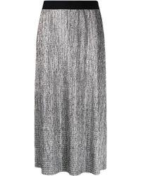 HUGO High-waisted Metallic Skirt